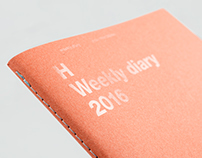 HEADS Weekly diary 2016