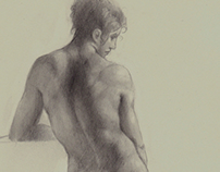 Prud'hon sketchbook study