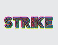 STRIKE Typeface