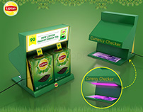 Lipton Green Tea Counter top & Parasite Display 2018