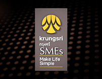 Krungsri SME Title intro animation