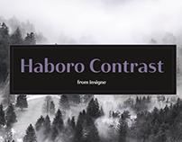Haboro Contrast: Gentle in approach.