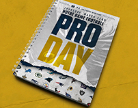 Notre Dame Football Pro Day 2018