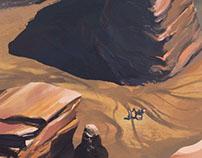 Desert Fantasy Concept Design