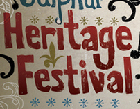 """Sulphur Heritage Festival"" Outdoor & Print Advertising"