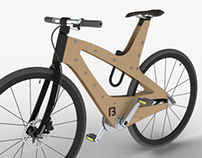 ALU+WOOD Concept Bike