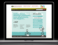 Northampton Borough Council Webpage Design