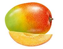 Some fruits  -  Quelques fruits