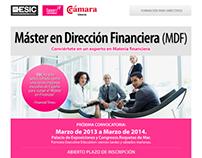 DISEÑO WEB - Infomails Cámara de Comercio de Almería