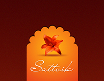Sattvik Spa Branding