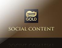 Nestlé Gold social content
