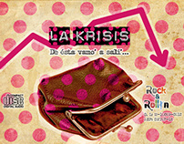 DISEÑO DE CD - La Krisis Band