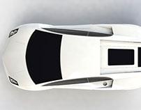 cad model of lamborghini huracan