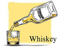 K - whiskey