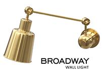 Broadway Wall Light