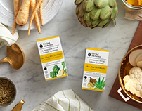 Living Alchemy Supplement Packaging