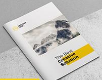 Creative Brochure Template A4 Vol. 03