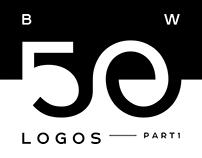 50 Black / White  L O G O S