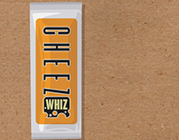 Cheeze Whiz. Logo Redesign and packaging