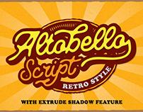 Free Altobello Script Font