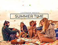 20 Summer Time Lightroom Presets + Mobile Version