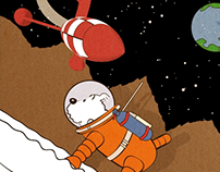 Herges Adventures of Tintin: Looping GIFS