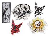 P.O.W. Stickers