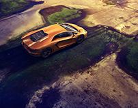 Lamborghini Aventador - CGI