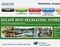 Interactive Digital Signage | Monon Community Center