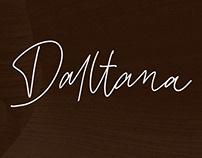 Daltana - Handwritten Font