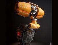 Funny Yellow Robot