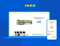 IKEA • STORE • FURNITURE • WEB • DESIGN •