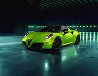 Pogea Racing 4C Centurion007 - THE GREEN ARROW