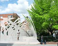 Sensory Bridge - Pop-up folly for Toynbee Hall