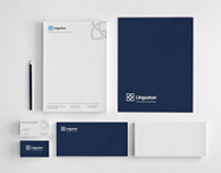 Brand identity for Linguaton