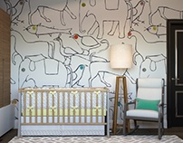 LACONIC LINES (children's room)