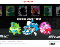 Honda CR-Z Mode Art