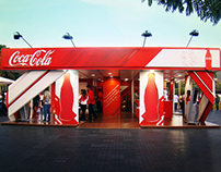Coca-Cola Booth / Athina Onassis 2012