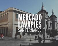 VISUAL ID • Mercado San Fernando Madrid.