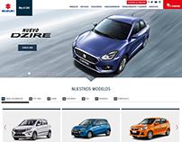 Suzuki - Desarrollo web