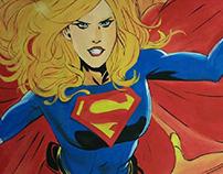 DC Comics Mural Pt. I