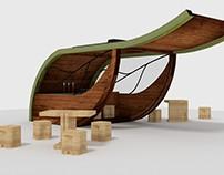 Wood | Chiosco ecosostenibile