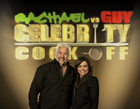 Food Network Rachael Vs Guy Celebrity Cook-Off