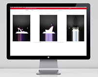 Kurt Geiger press website and digital lookbook AW/12