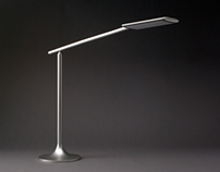 Miles. LED task light for Humanscale