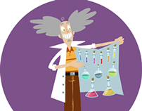 Scientists characters