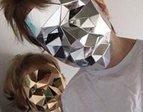 Cardboard mask
