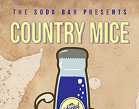 Country Mice show poster