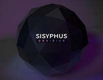 Album design - SISYPHUS 'OBSIDIAN'
