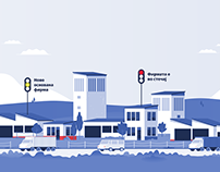 Illustrations for Business Network